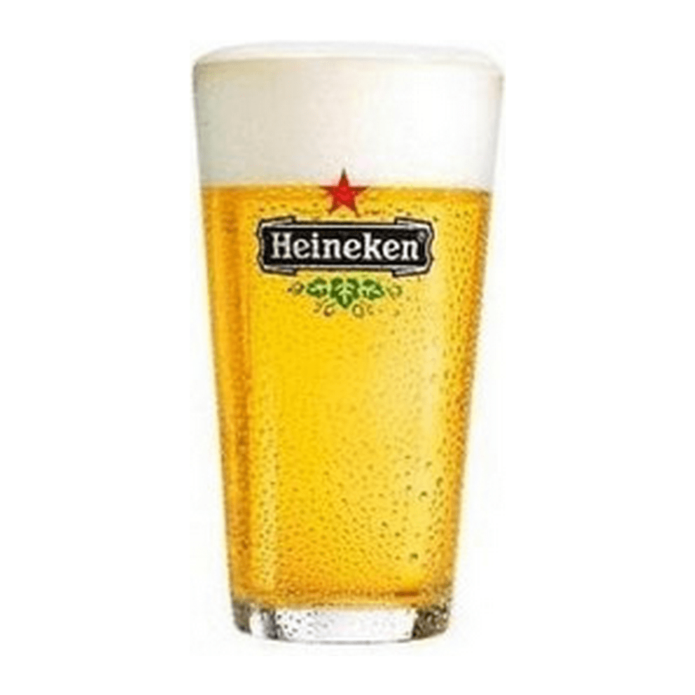 Heineken glazen