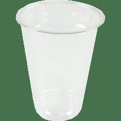 plastic glazen