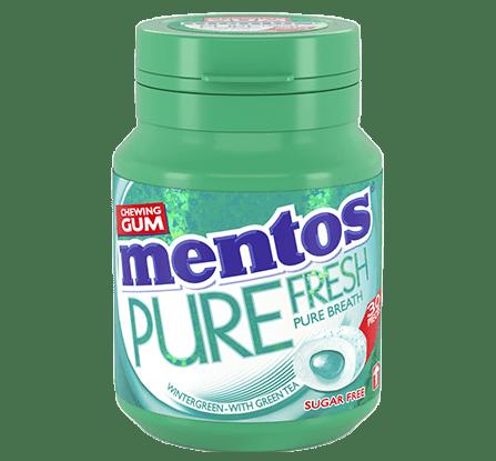 Mentos | Pure Fresh Wintergreen | 6 potten