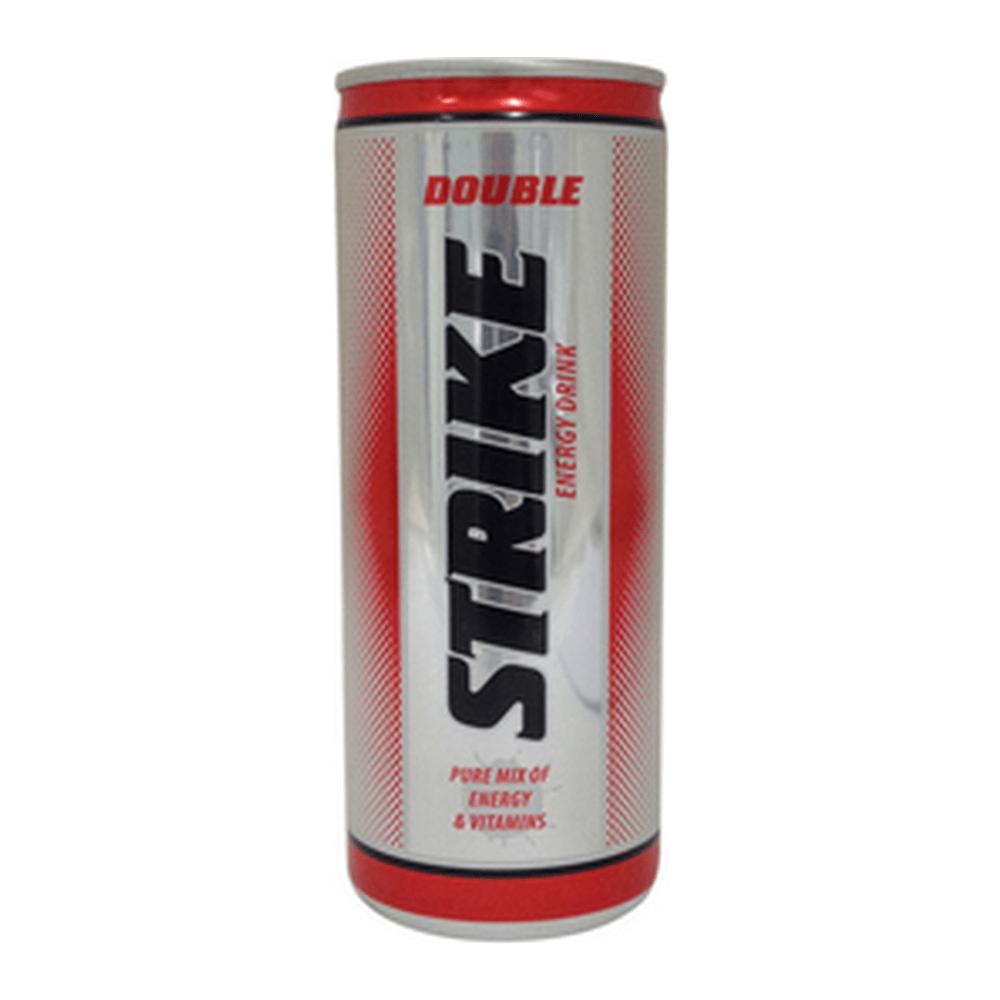 Doule Strike Energy Drink | Blik 24 x 250 ml