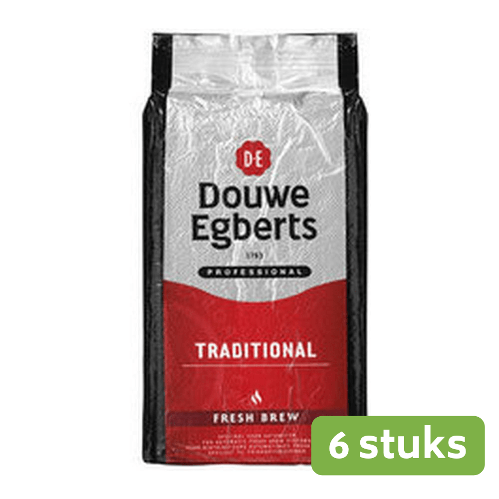 Douwe Egberts | Fresh Brew Traditional | Pak 6 x 1 kg