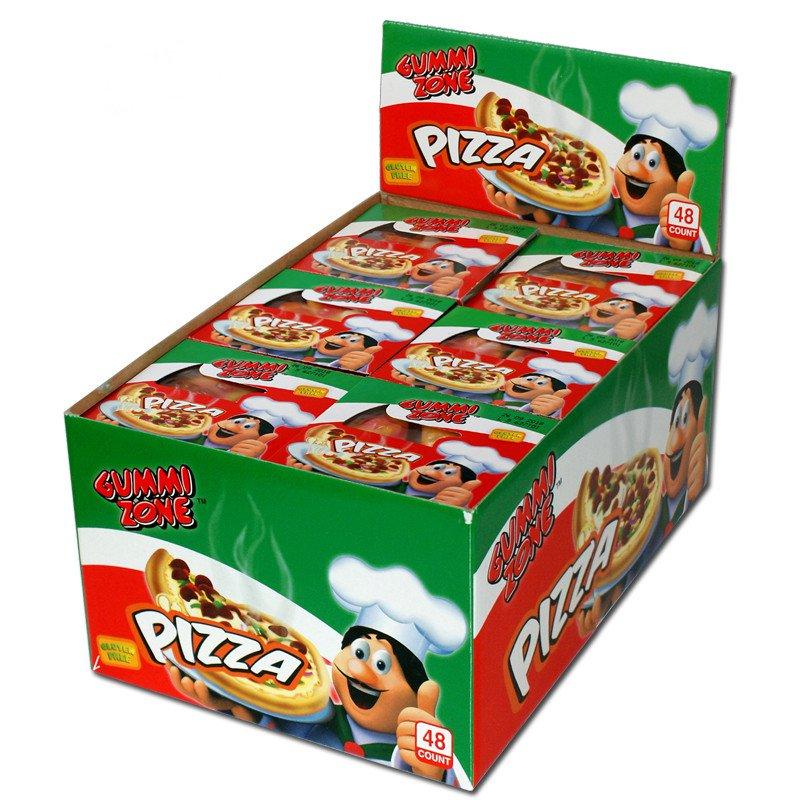 Gummi zone | Mini pizza's | 48 stuks