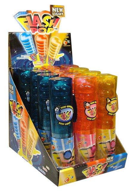 Funny candy | Flash Pop | 12 stuks