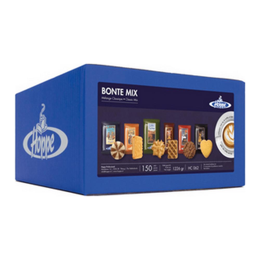 Hoppe Bonte Mix | Koffiekoekjes | Doos 150 stuks