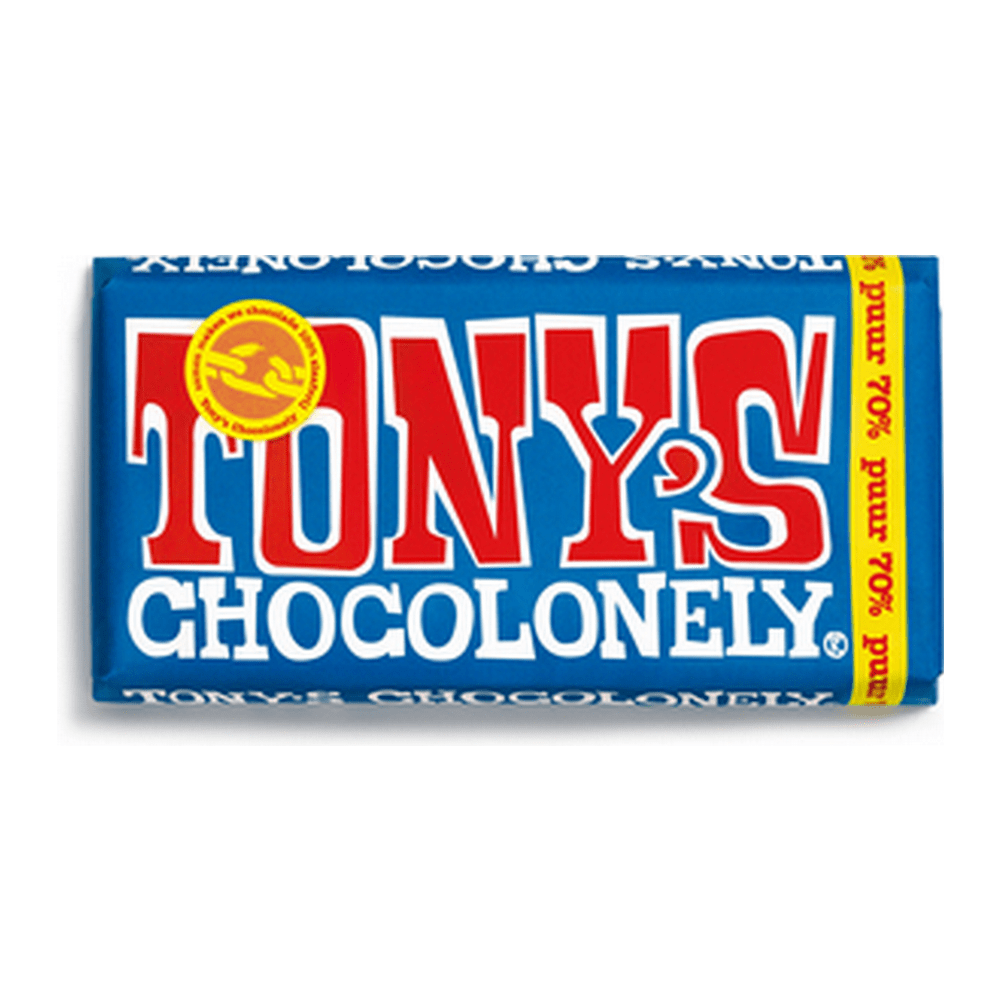 Tony's Chocolonely | 70% Puur | 15 repen
