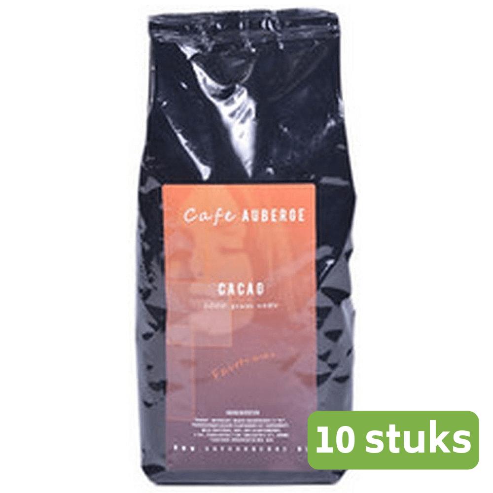 Café Auberge | Cacao Fairtrade | Zak 10 x 1 kg