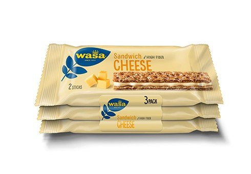 Wasa | Sandwich Cheese | 24 repen