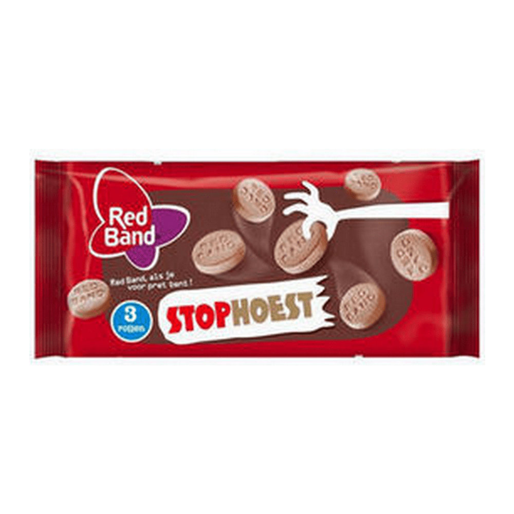 Red Band | Stophoest | 30 x 3-pack