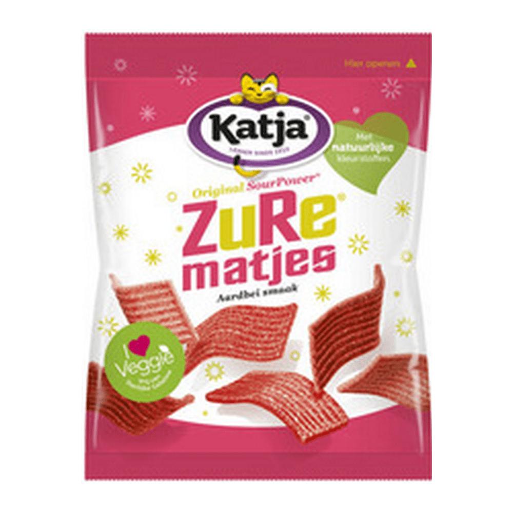 Katja   Zure aardbei matje   24 x 70 gram