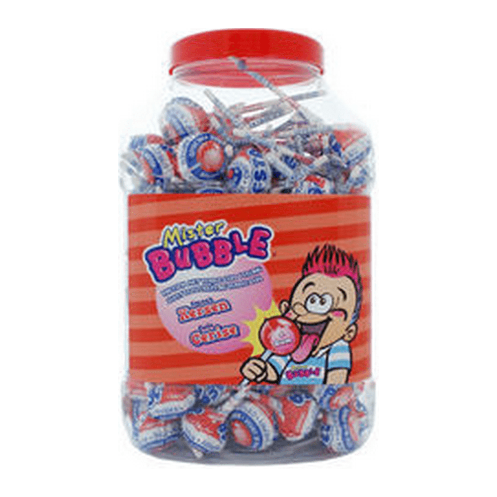 Mister Bubble | Kersen | 100 lollies