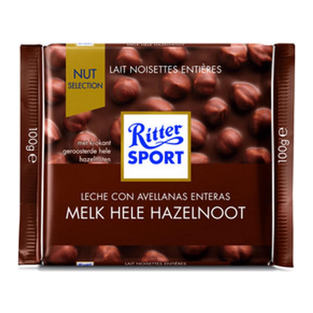 Rittersport | Melk hele hazelnoot | 10 stuks