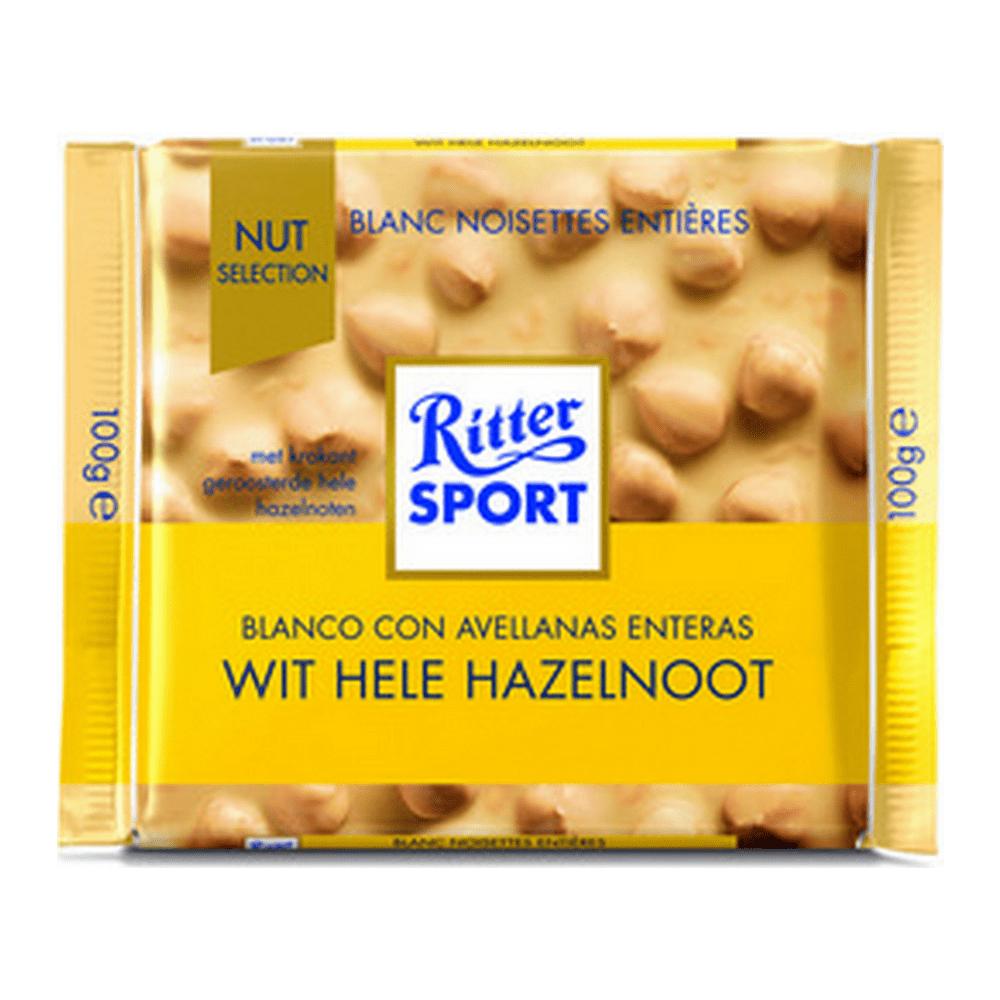 Rittersport | Wit hazelnoot | 10 stuks