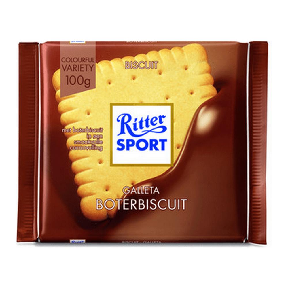 Rittersport | Boterbiscuit | 11 stuks