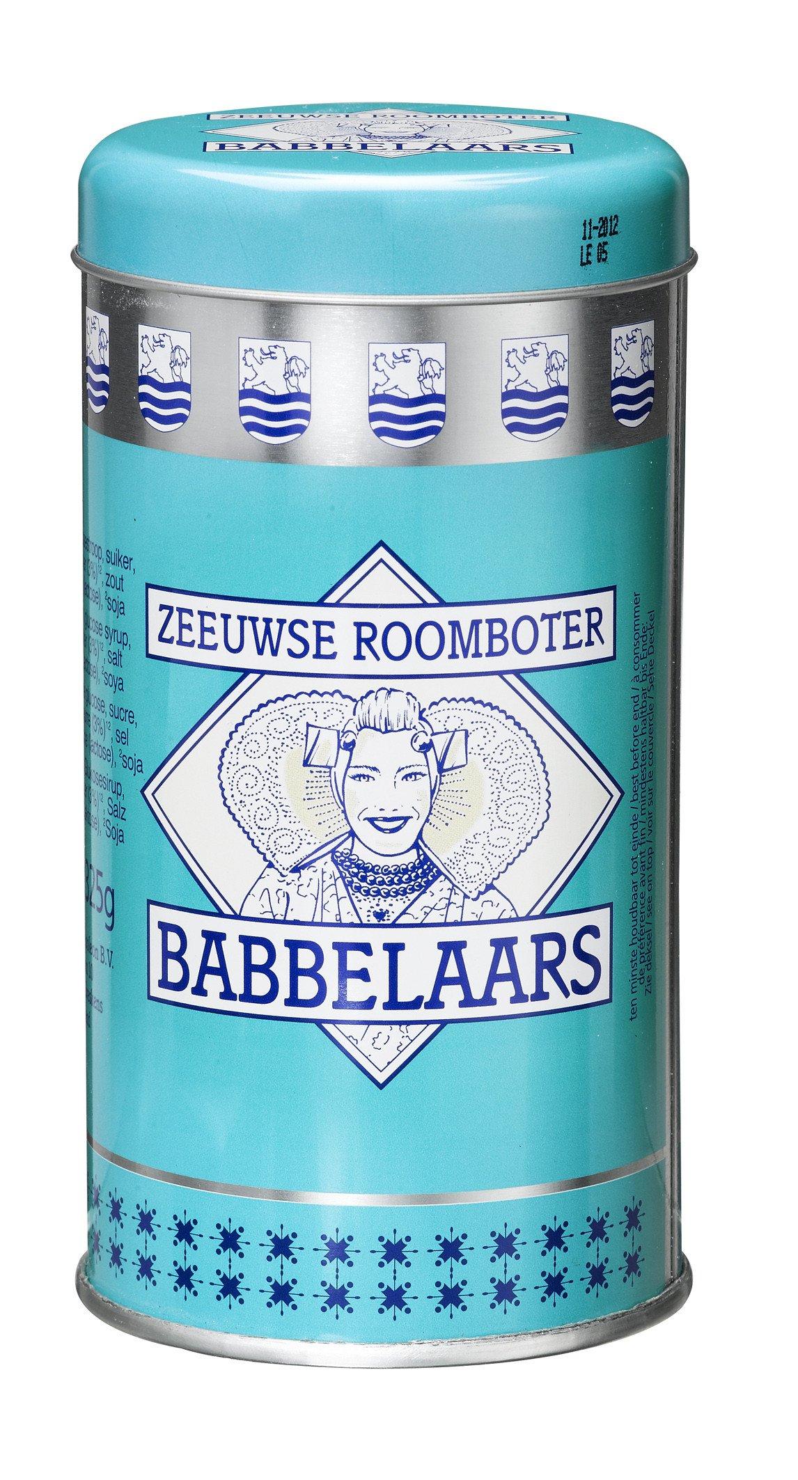 Donkers | Zeeuwse Roomboter Babbelaars | Blik 12 x 325 gram