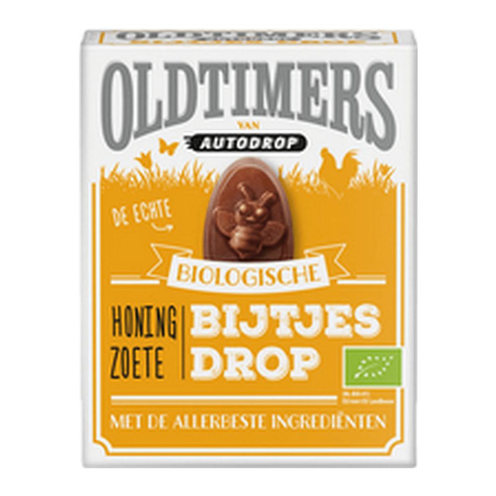 Oldtimers Bio Honing Zoete Bijtjes Drop 6 stuks
