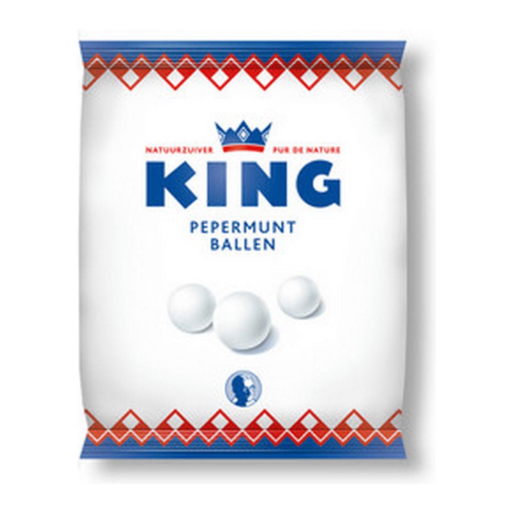 King | Pepermuntballen | 12 x 250 gram