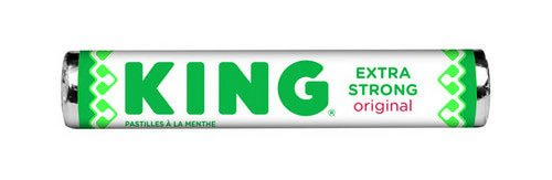 King | Pepermunt | Extra Strong | 36 rollen