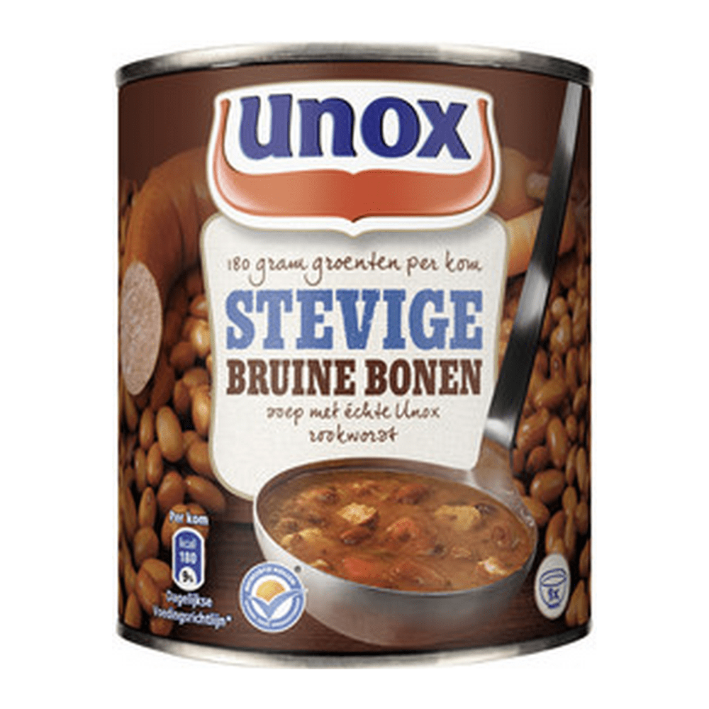 Unox | Stevige bruine bonensoep | 6 x 0,8 liter
