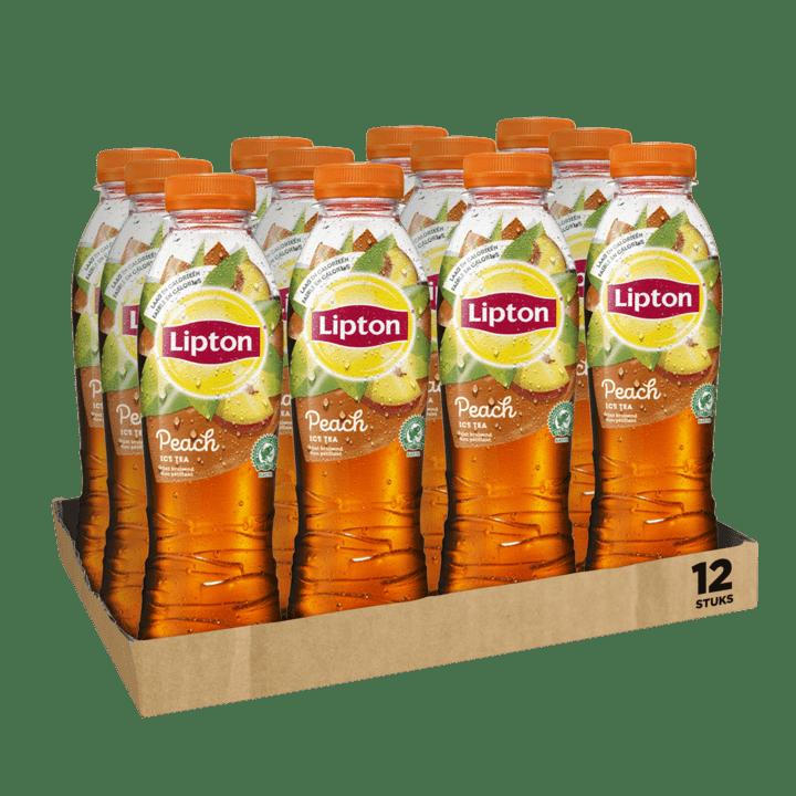 Lipton Ice Tea Peach | Petfles 12 x 0,5 liter