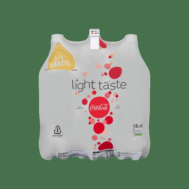 Coca cola light | Petfles 6 x 1,5 liter