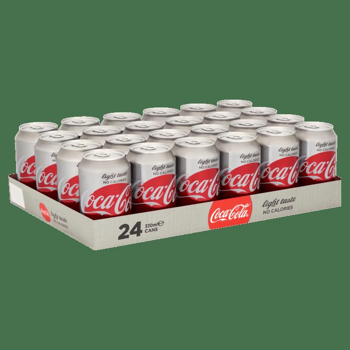 Coca Cola Light | Blik 24 x 33 cl