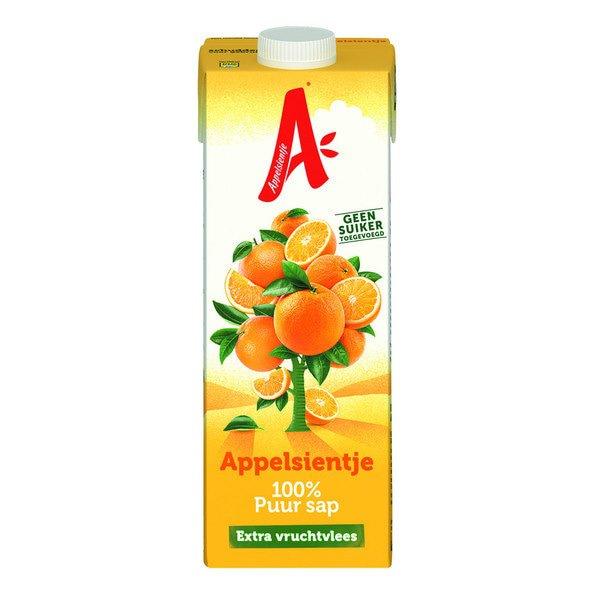 Appelsientje Sinaasappel | Vruchtvlees | Pak 12 x 1 liter
