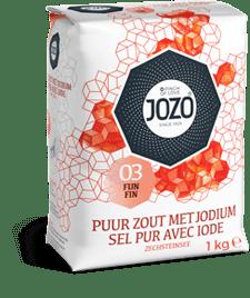 Jozo | Keukenzout | Jodium | 12 x 1kg