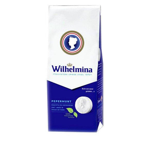 Wilhelmina | Pepermunt | Zak 12 x 225 gram