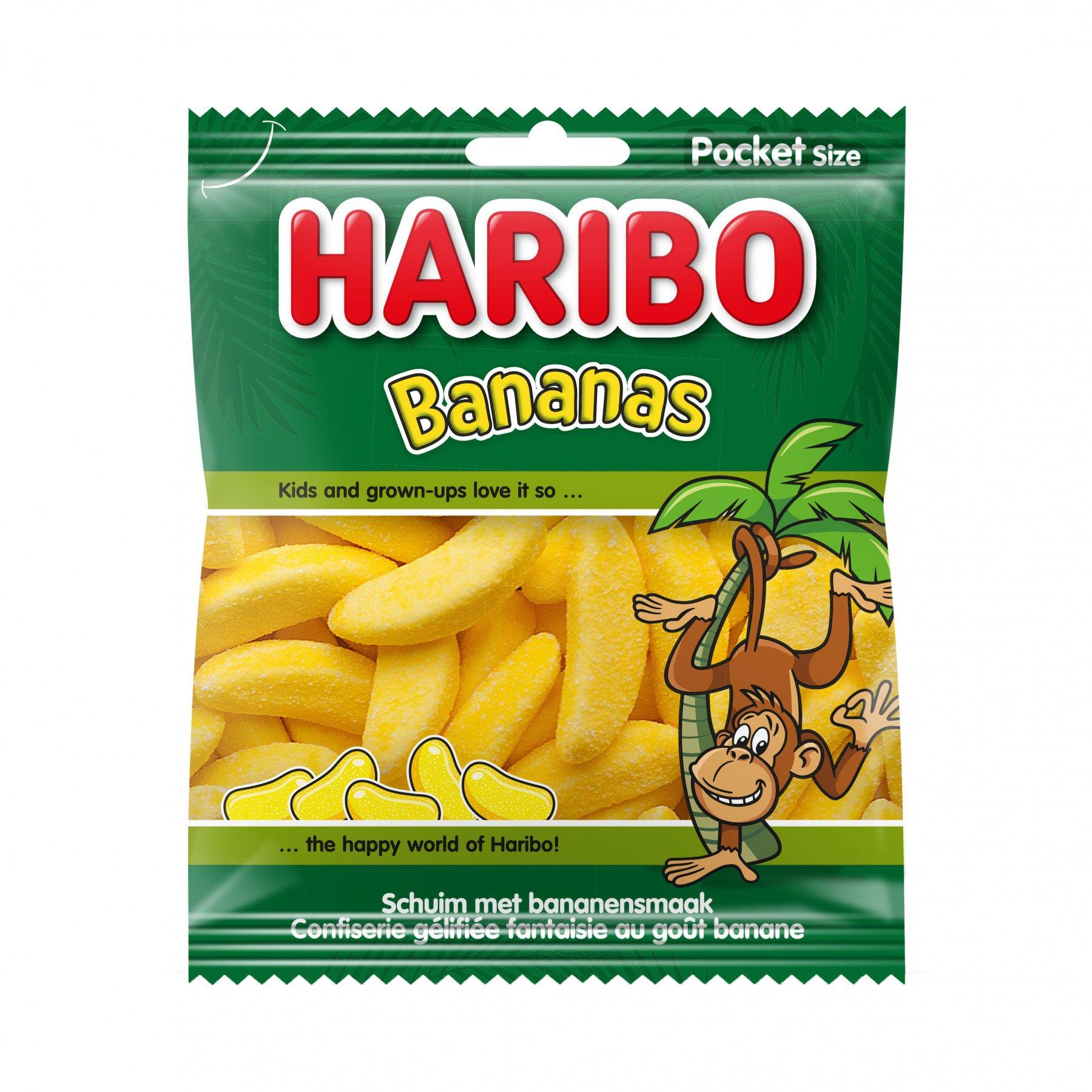 Haribo | Bananen | 28 x 75 gram