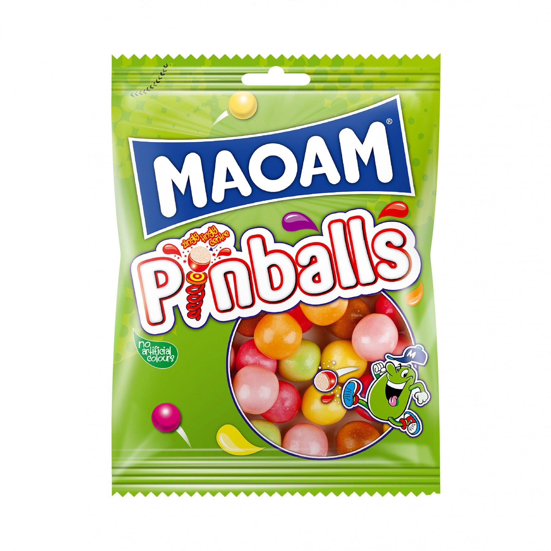 Haribo | Maoam Pinballs | 28 x 70 gram