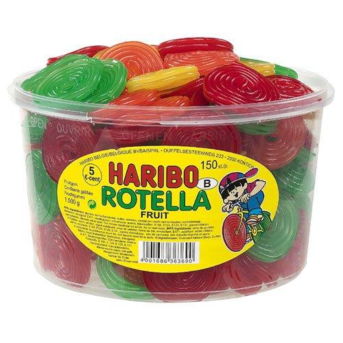 Haribo | Fruit Rotella | 150 stuks