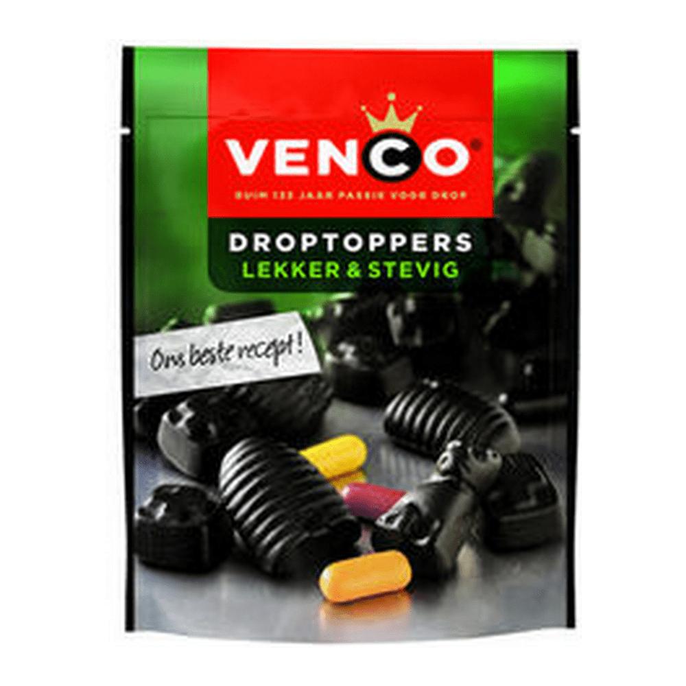 Venco | Droptoppers | Lekker&Stevig | Stazakken 10 stuks