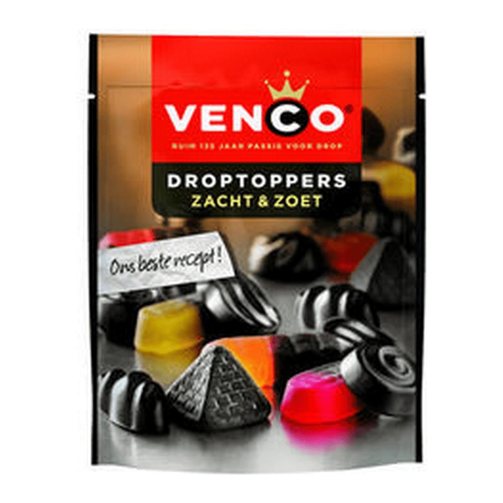 Venco   Droptoppers   Zacht&Zoet   Stazak 10 stuks