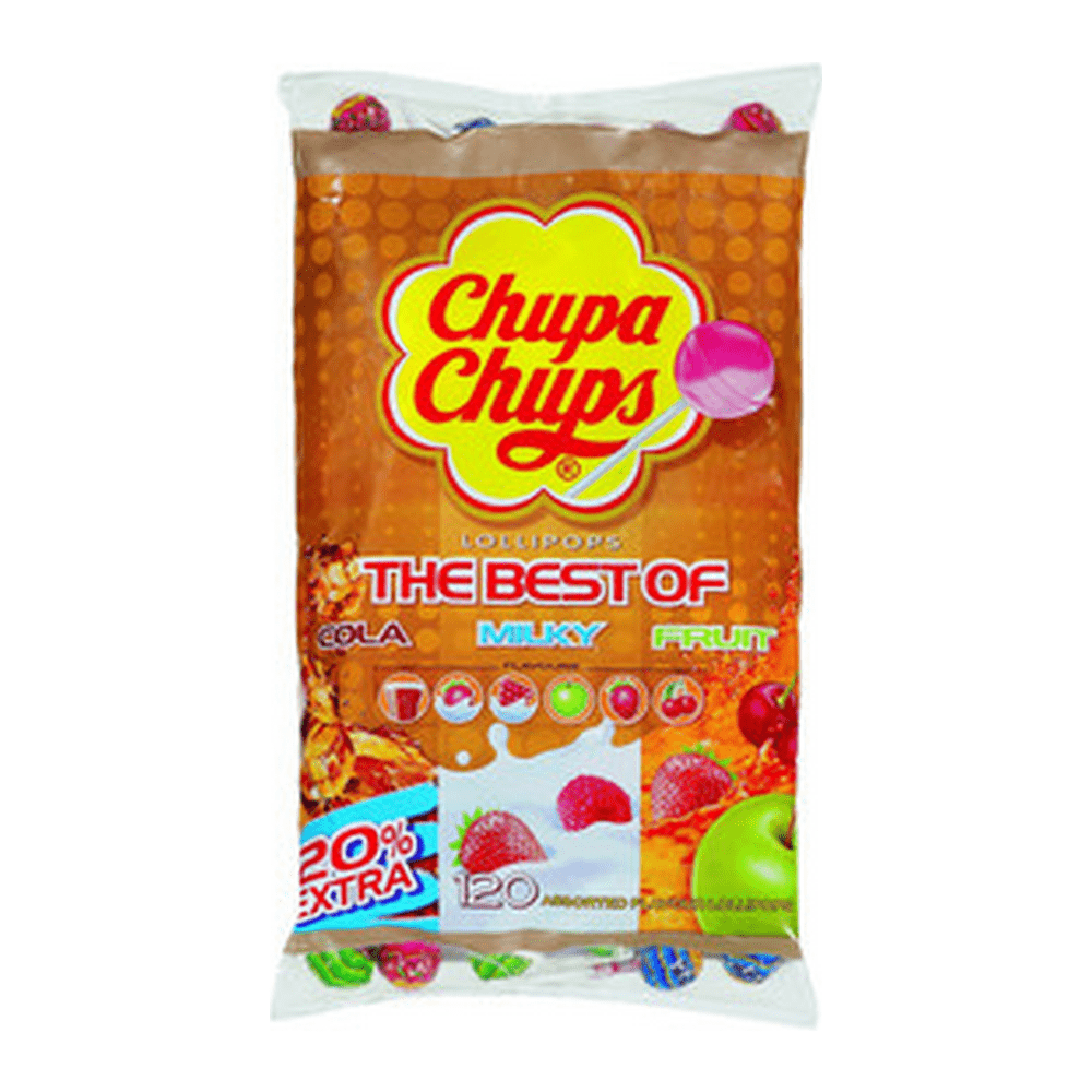Chupa Chups | The Best Of 120 lollies