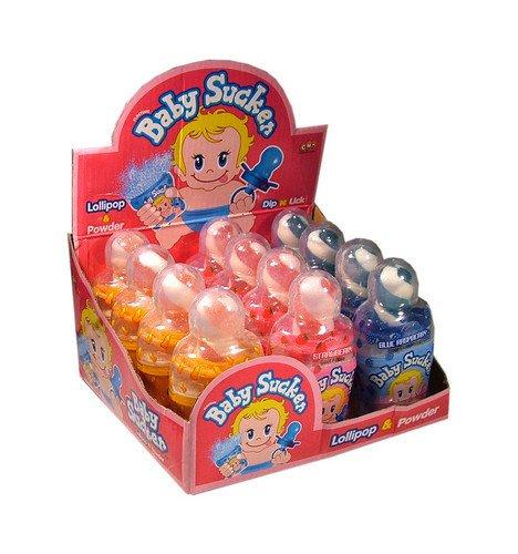 Funny Candy | Baby Sucker | 12 stuks