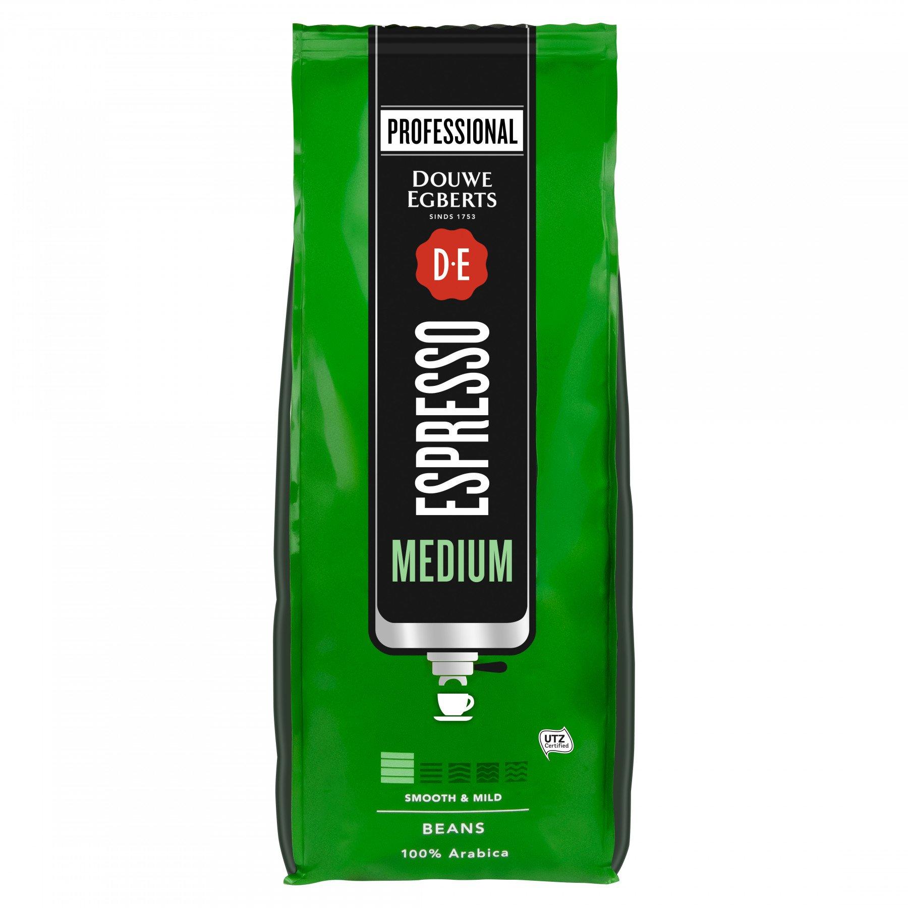 Douwe Egberts | Espresso Medium Roast | Pak 6 x 1 kg