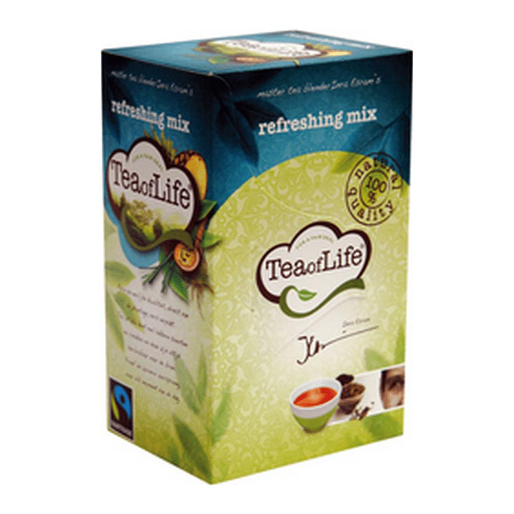 Tea of life Refreshing mix 80 zakjes