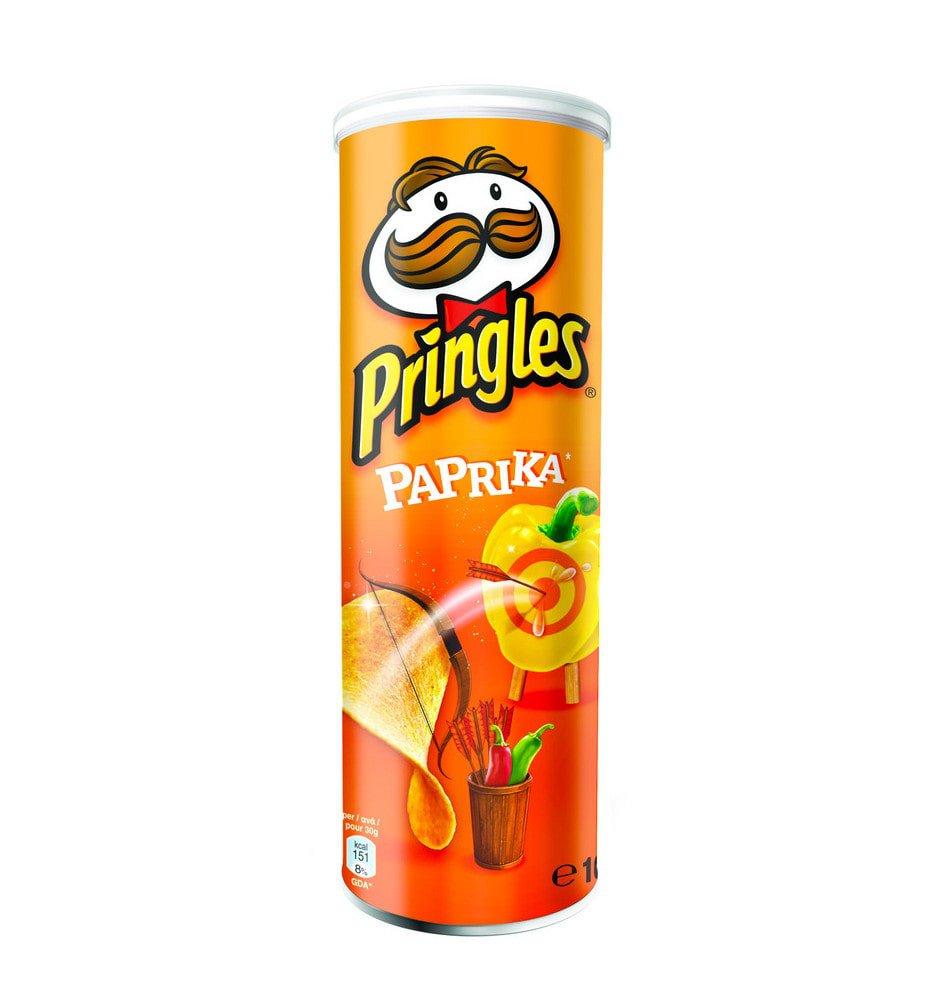 Pringles   Paprika   19 stuks