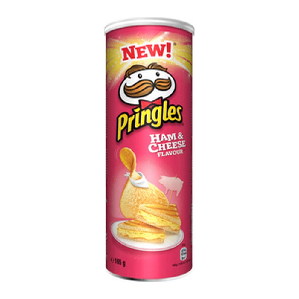 Pringles Ham & Cheese 165 gr 9 stuks