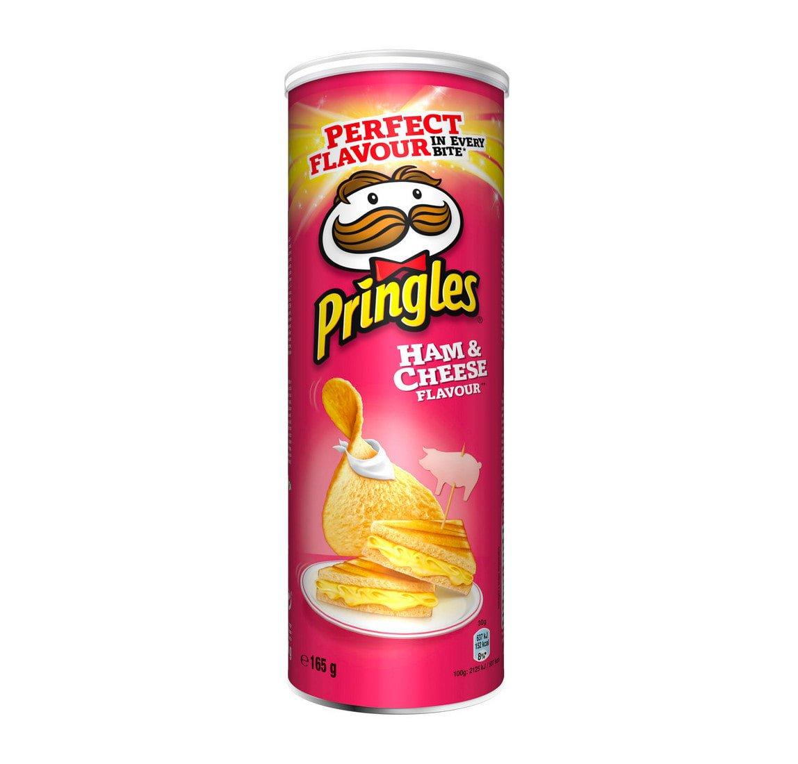 Pringles | Ham & Cheese | 9 stuks