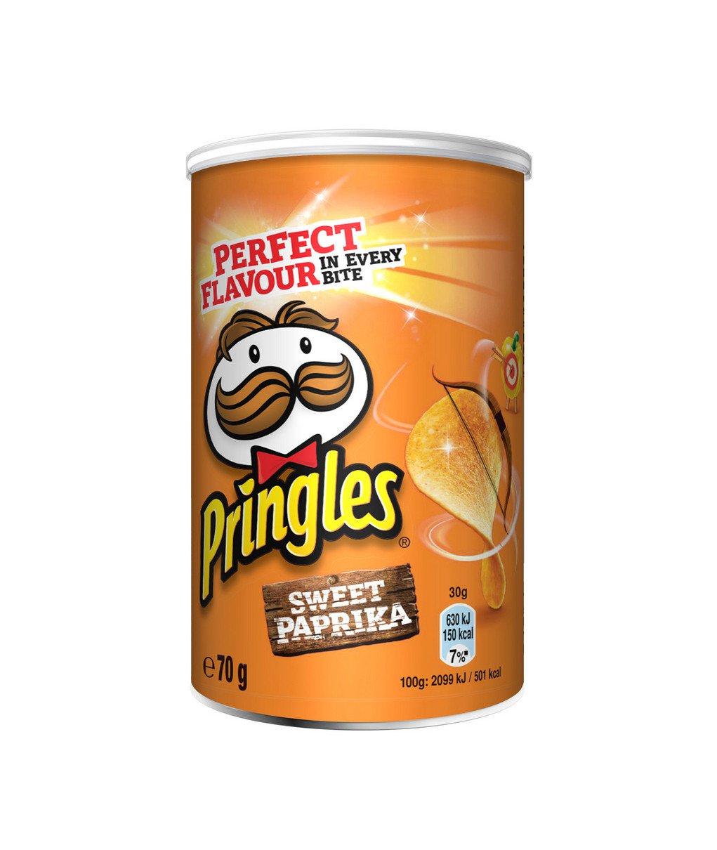 Pringles | Sweet Paprika | 12 x 70 gram