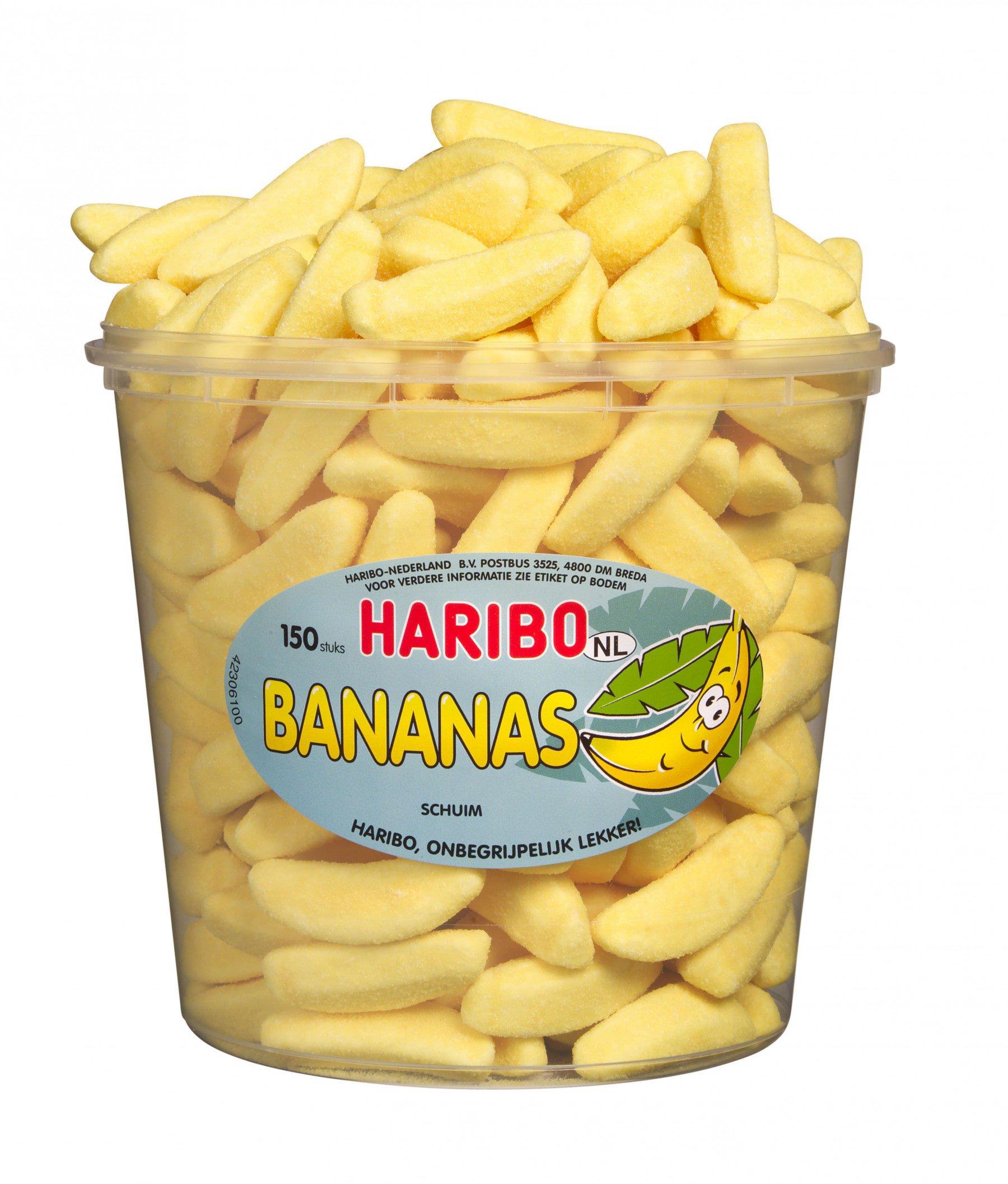 Haribo | Bananas | 150 stuks