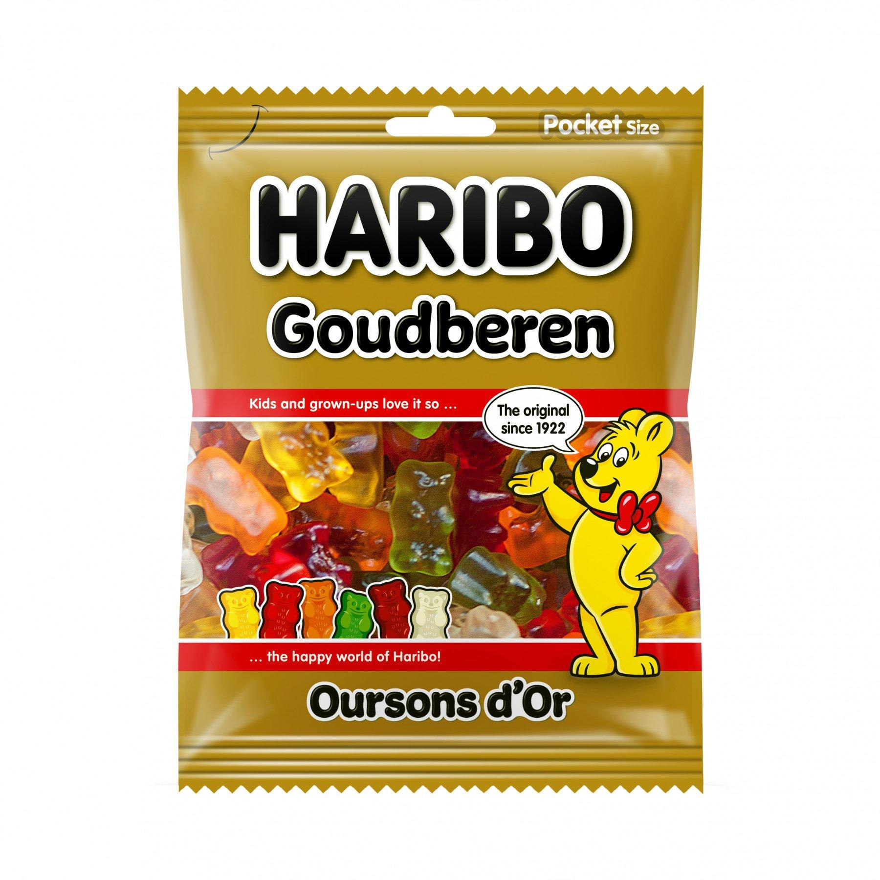 Haribo | Goudbeertjes | 28 x 75 gram