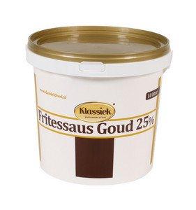Klassiek | Fritessaus | Goud 25% | Emmer 10 liter