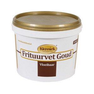 Klassiek   Frituurvet vloeibaar Gold   Emmer 10 liter
