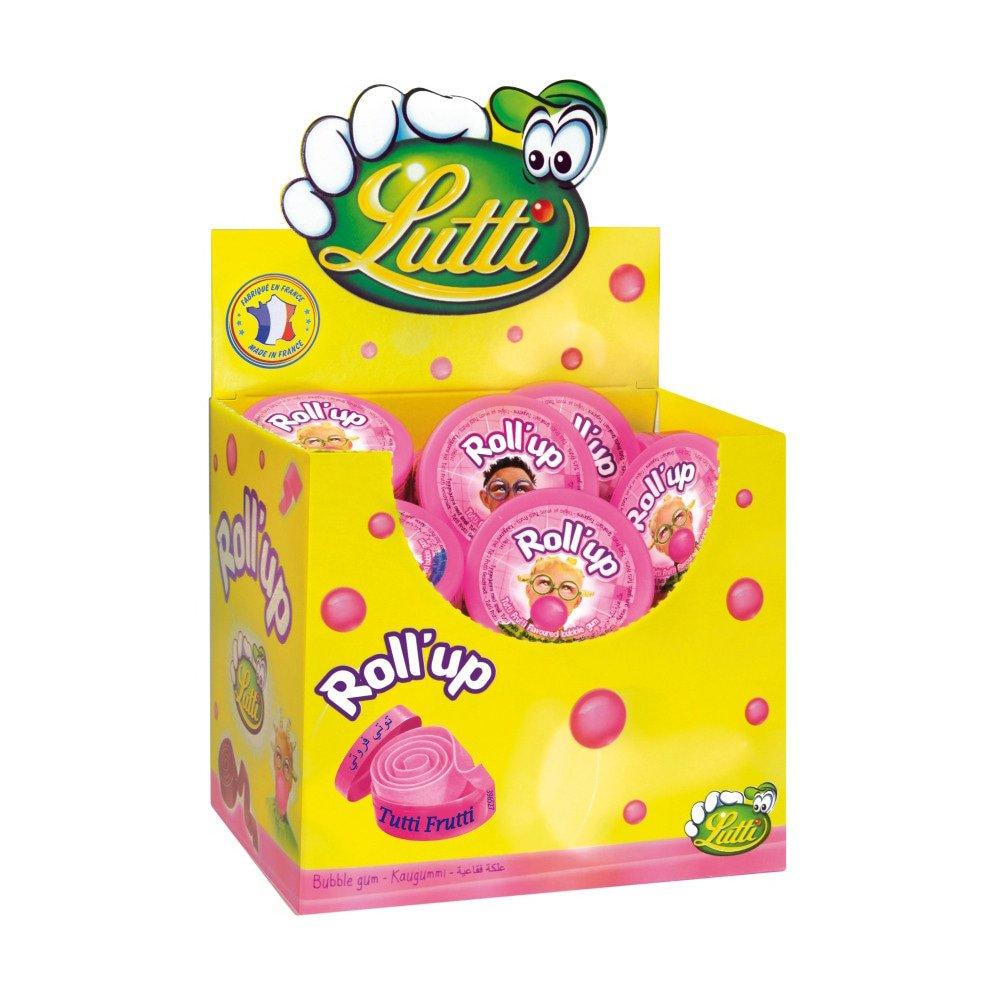 Lutti | Roll Up | Tutti Frutti | 24 stuks