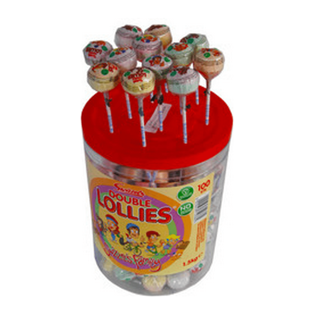 Candyman | Double Lollies | 100 stuks