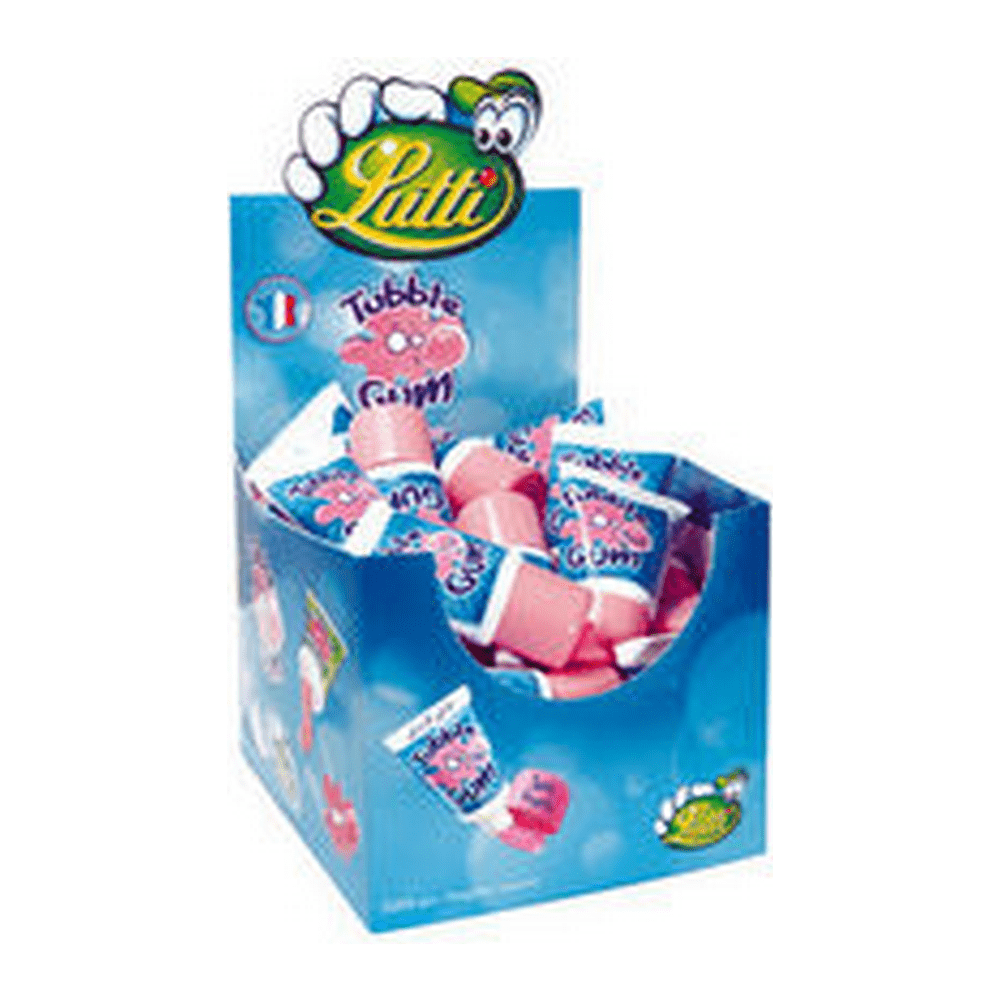 Lutti | Tubble Gum | Fruit Tube | 36 stuks
