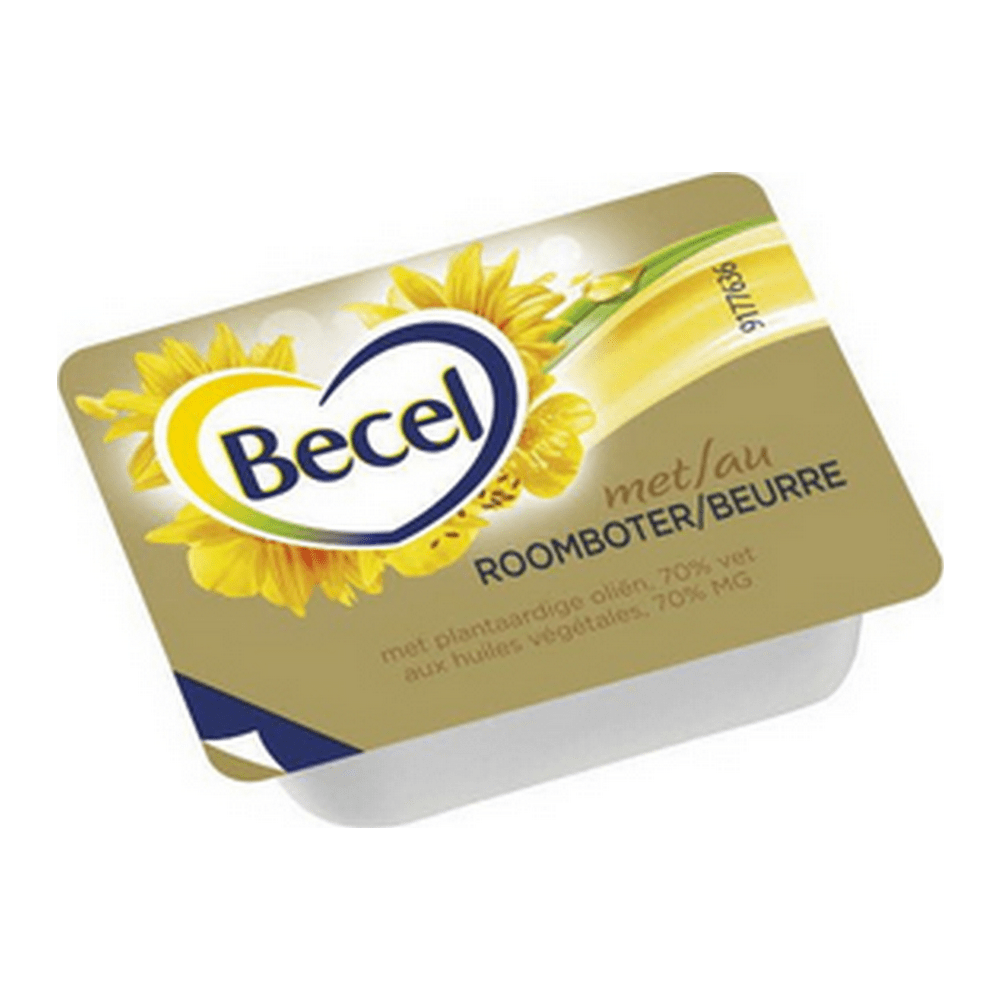 Becel | Roomboter | 100 cups