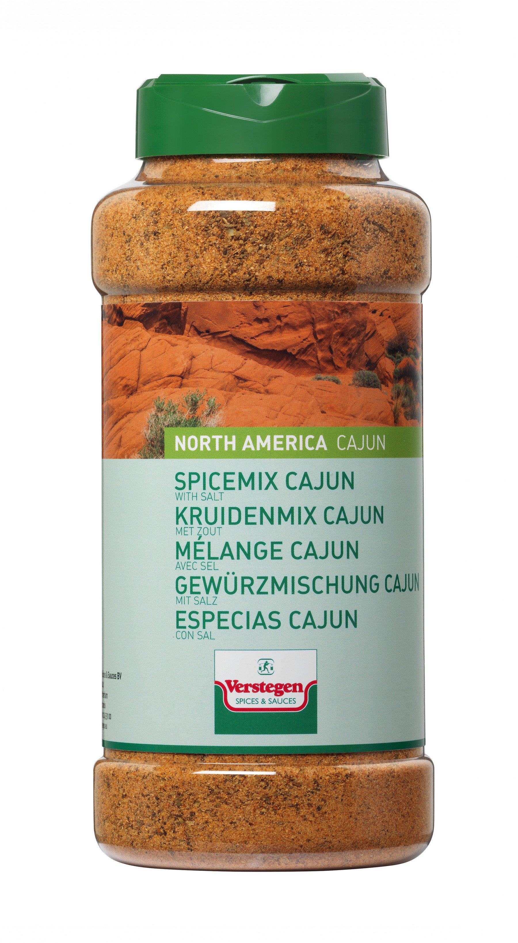Verstegen | Cajunkruiden & zout | 900 gr